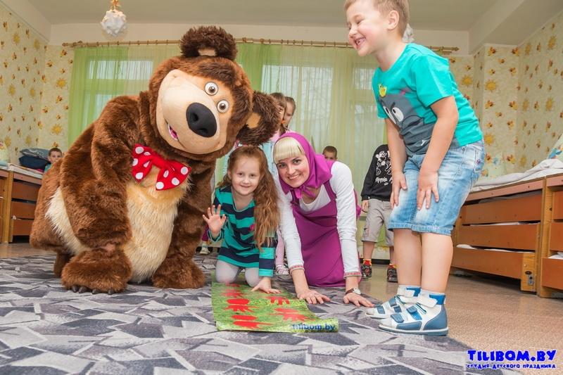 Конкурсы для дня рождения с маши и медведь