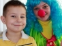 Клоун Веснушка на день рождения у Максима