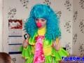 Клоун Веснушка в гостях в Александра