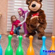 Маша и Медведь на день рождения в Минске