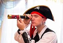 Пират Аниматор для детей