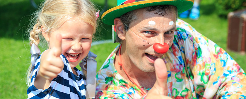 Клоун на детский праздник минск