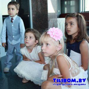 Детский аниматор на свадьбе