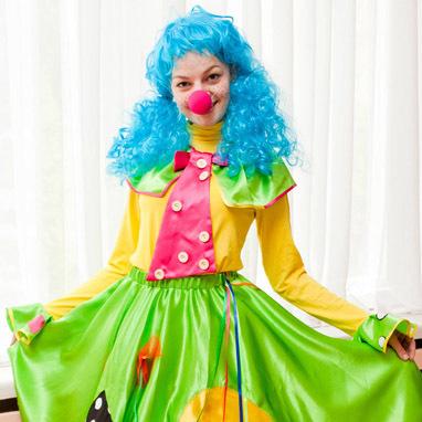Клоун Веснушка на День Рождения ребенка