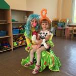 Клоунесса Веснушка на день рождения
