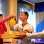 Химическое шоу в Минске - Эксперимент с воздушным шаром