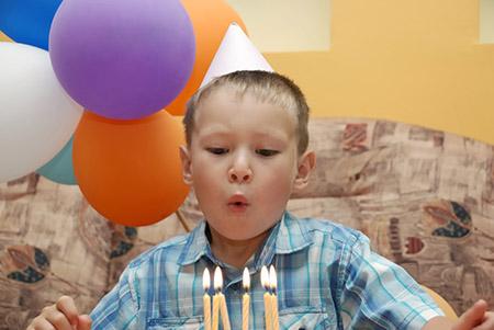 7 лет - день рождения. Где и как отметить день рождения?