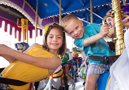 Как праздновать день Рождения ребенка - парк и атракционы