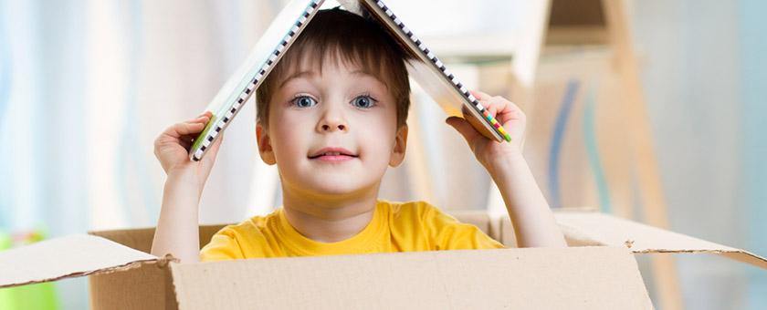 Во что играть с ребенком дома?