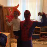 Человек паук аниматор в Минске